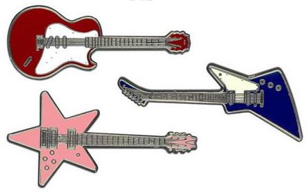 Монета-гитара